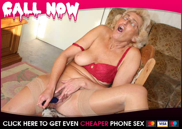 30 Second Wank with Granny