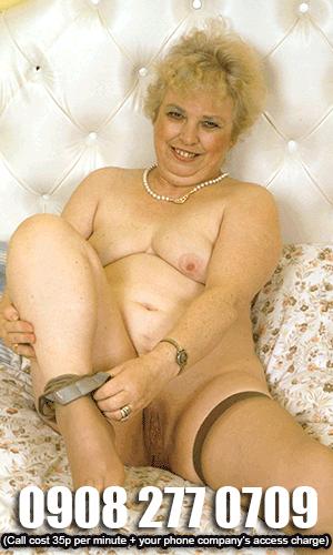 Granny phone sex lines